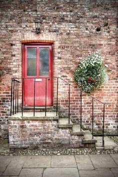 Door at Tatton Park, Chesire, England photo by Mark Carline, via Flickr