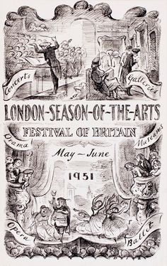 Festival of Britain - Edward Ardizzone RA 1951