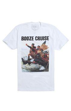 Booze Cruise Shirt $22 at PacSun