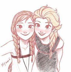 Anna and Elsa ❄️