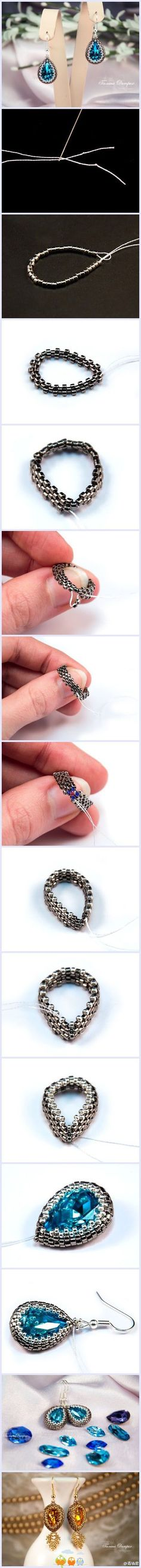 Earrings...free tutorial