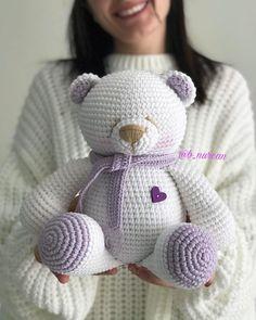 Lion Crochet, Doll Amigurumi Free Pattern, Crochet Teddy Bear Pattern, Knitted Teddy Bear, Crochet Amigurumi Free Patterns, Baby Knitting Patterns, Crochet Dolls, Teddy Bear Patterns Free, Crochet Disney