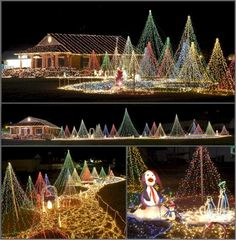 Ever wonder if you had dancing light shows nearby? Find Christmas Light Displays Near You