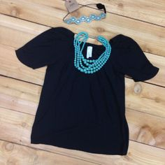 THE LAYLA TOP IN BLACK