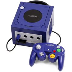 This Cube console is named after its shape, the Nintendo GameCube. The Nintendo GameCube is the 3rd console made by Nintendo. It comes in a variety of 3 colours Dark Blue, Silver and Black, there was also 5-10 Gold Gamecubes given to the developers of the Gamecube. The Nintendo GameCube was released to Australia in 2002.