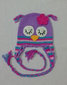 Owl hat by happy.crochet/instagram. Baykuşun figürlü bere happy.crochet tarafından hazırlandı. happy.crochet/instagram