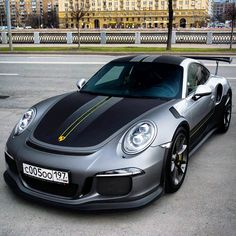 The Porsche 911 is a truly a race car you can drive on the street. It's distinctive Porsche styling is backed up by incredible race car performance. Porsche Sports Car, Porsche Cars, Lamborghini Aventador, Ferrari, Supercars, Super Sport, Automobile, Carrera, New Luxury Cars