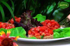 Bruschete Tuscany Tandoori Chicken, Menu, Vegetarian, Restaurant, Ethnic Recipes, Photos, Menu Board Design, Twist Restaurant, Restaurants
