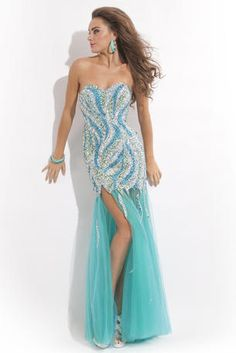 Party Time Prom Dress 6455
