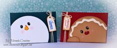 """M. Miranda Creations: Guest Designing for My Craft Spot - Christmas Inspiration - 2 1/2"""" X 3 3/4"""" Gift Card Holders"""