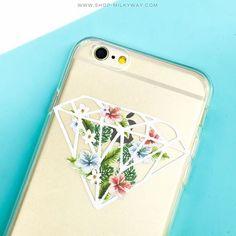 """Diamond  #floral #diamond #milkywaycases WWW.SHOP-MILKYWAY.COM"" Photo taken by @milkywaycases on Instagram, pinned via the InstaPin iOS App! http://www.instapinapp.com (07/30/2015)"