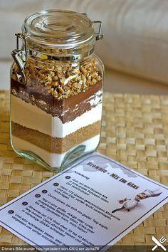 Brownie - Mix im Glas (Rezept mit Bild) von famenight   Chefkoch.de