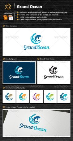 Grand Ocean is perfect for any business that related to seafood, ocean products and restaurant