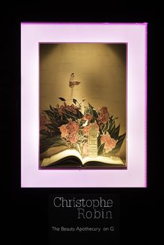 HARRODS POP UP FLOWER CAMPAIGN | Christophe Robin Window Display | May 2015 by…
