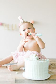 baby girl 1st birthd