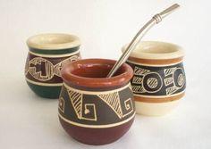 mates artesanales de cerámica