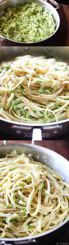 Zucchini and Parmesan Pasta - So easy and delicious!