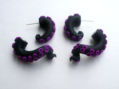 Morticia+Tentacle+Earring+Fake+Gauge+Addams+Family++by+deceptions,+$20.00