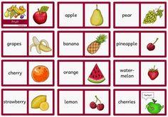"""Drei Dominos zum Thema """"fruit"""" Diese drei Dominos zum Thema """"fruit"""" waren ebenfalls ein Wunsch aus der Wunschkiste. Ich habe zwei Domin..."""