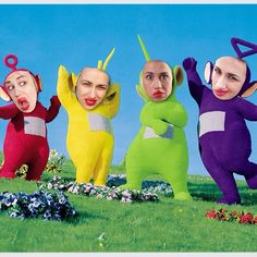 teletubbies+ Miranda sings= mirubbies!