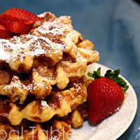 Liege Waffles by Global Table Adventure