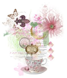 """A Cup Full Of Promises"" by dlmusiel ❤ liked on Polyvore featuring art"
