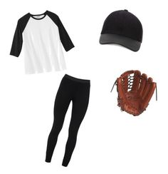 """""""Baseball Player Halloween Costume"""" by haileystutz on Polyvore featuring Peace of Cloth, Canali and Mizuno"""
