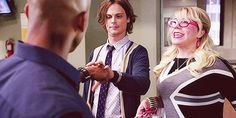 """Because he's just as awkward as you are. 