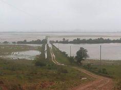 BLOG LG PUBLIC/São Francisco de Assis/Região: E as águas não baixam no Jaguari Grande