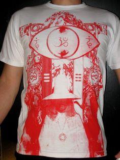 Alejandro Jodorowsky's HOLY MOUNTAIN T-Shirt size SMALL. $24.99, via Etsy.
