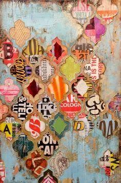 Deliciously at Home - Decor - Organization - Wellness: 40 Ideias de decoração com revistas