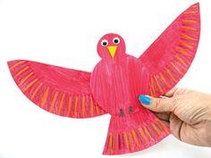 PAT paper plate animals Best Bird Crafts Preschool Teaching Paper Plates 60 Ideas Caring Of A Tie If Bird Paper Craft, Paper Plate Crafts, Paper Crafts For Kids, Paper Plates, Birds For Kids, Art For Kids, Toddler Art, Toddler Crafts, Bird Crafts Preschool
