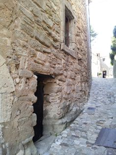 Main road? ....up the hill to the chateau .... Marquis de Sade In Lacoste, Provence