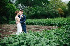 Wedding On A Working Farm