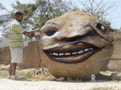 Andre Muniz Gonzaga, alias Dalata, Dakar - 2012 - www.street-art-avenue.com