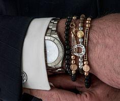 gioielli moda bracciali uomo made in Tuscany Italy Maria Cristina Sterling argento