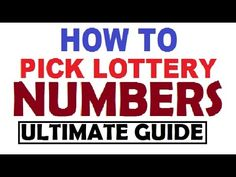 how to win the uk lottery jackpot