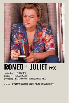 Romeo and Juliet Iconic Movie Posters, Iconic Movies, Teen Movies, Netflix Movies, Leonardo Dicaprio Movies, Good Movies To Watch, Movie Prints, Movie Covers, Alternative Movie Posters