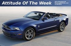 Deep Impact Blue 2013 Ford Mustang