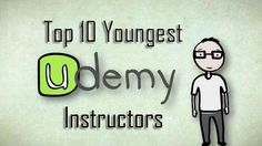 Are you looking for udemy instructors who're really young and talented, here are top 10 youngest udemy instructors
