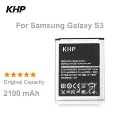 100% Original Brand KHP Phone Battery For Samsung Galaxy S3 SIII I9300 I9305 I9308 Built-in Replacement Mobile Batteries ** Click the image to find out more