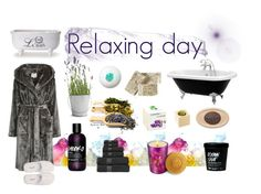 """Relaxing day"" by agatita1985 ❤ liked on Polyvore featuring beauty, Royal Velvet, Potting Shed Creations, Bond No. 9, Kahina Giving Beauty and GANT"