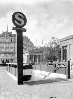 S-Bahn Logo Potsdamer Platz 1939