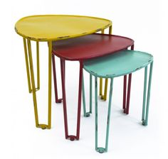 """Products – tagged """"alcove-tables"""" – Page 2 – Home of Temptations Interior Design Furniture, Decor & Gifts Loft Furniture, Funky Furniture, Design Furniture, Furniture Decor, Geometric Furniture, Room Of One's Own, Iron Table, Table Seating, Nesting Tables"""