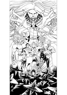 Afterlife Inc. # 4 Cover - Kickstarter: https://www.kickstarter.com/projects/jonlock/afterlife-inc-volume-4-man-made-god?token=7b483f3e - please support!