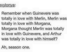 this is the most hilarious, and accurate, description of season 1 that i've read so far, Merlin BBC Colin Morgan, Merlin Funny, Merlin Memes, Merlin Merlin, Merlin Quotes, Bradley James, Hunger Games, Isak & Even, Merlin Fandom
