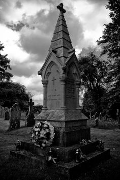 St Margarets, East Wellow   Florence Nightingale's Grave Stone