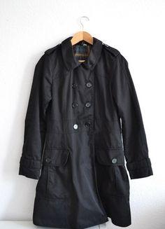 Kup mój przedmiot na #vintedpl http://www.vinted.pl/damska-odziez/plaszcze/10384502-jesienny-czarny-plaszcz-hm