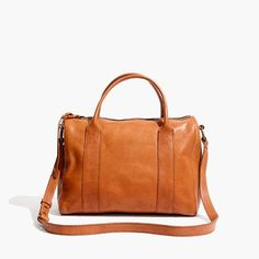 Madewell Satchel bag. With monogram.
