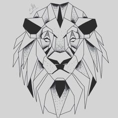 Geometric Lion …